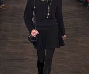 Anna Selezneva, runway, and outfit image