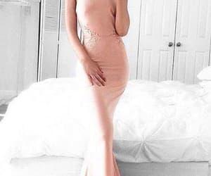 prom dress and halter prom dress image