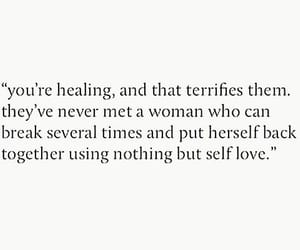 quote and self love image