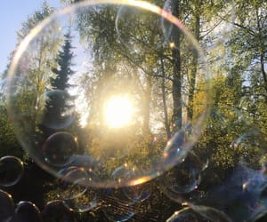 bubbles, spring, and summer image