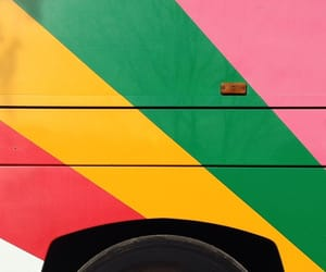 colorful, stripes, and trucks image