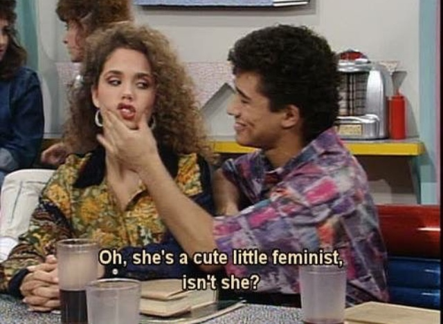 feminism, saved by the bell, and quotes image