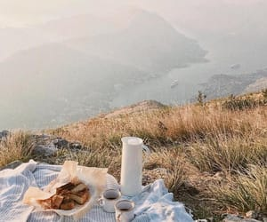 adventure, coffee, and view image