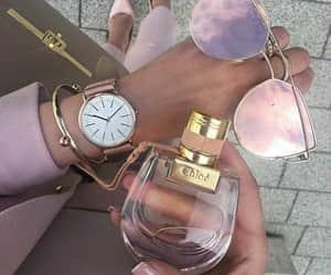 fashion, sunglasses, and perfume image