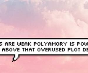 fandom, header, and polyamory image