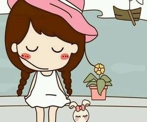 anime, cartoon, and cute girl image