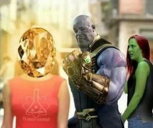 meme, thanos, and Avengers image
