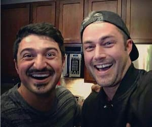 otis, taylor kinney, and chicago fire image