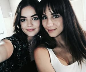 lucy hale, pll, and troian bellisario image