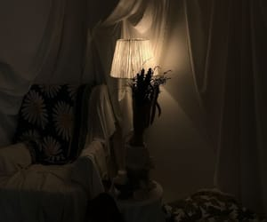 bedrooms, dark, and lights image