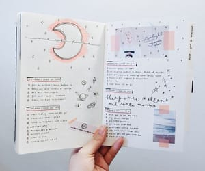 diary, inspiration, and journal image