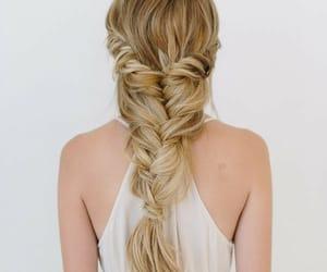 blonde, braid, and longhair image