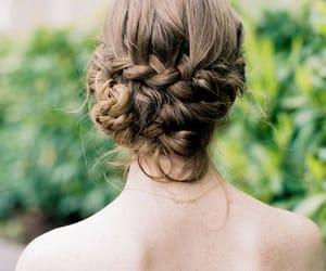 braid, brown, and hair ideas image