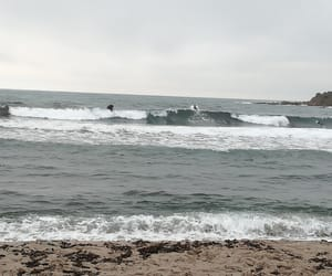 bad weather, surf, and corse image