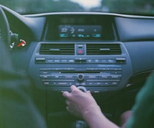 car, music, and couple image