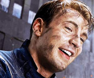 Avengers, captain america, and smile image