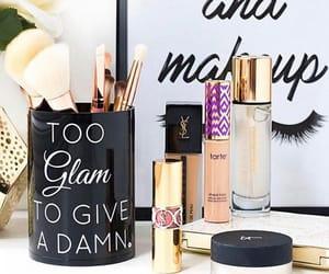 cosmetics, fashion, and lipstick image