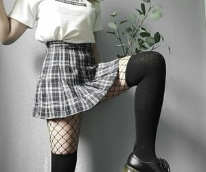 aesthetic, alternative, and tights image