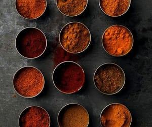 aesthetic, orange, and bronze image
