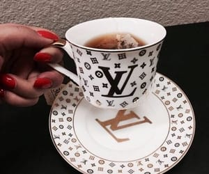 tea, Louis Vuitton, and luxury image