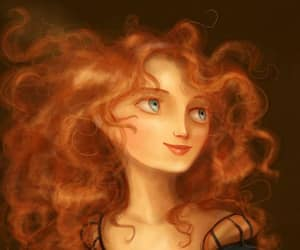 disney, redhair, and the brave image