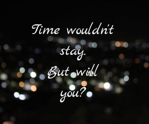quote, time, and musings image