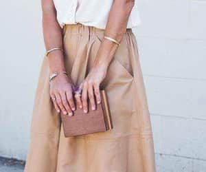 classy, fashion, and white shirt image