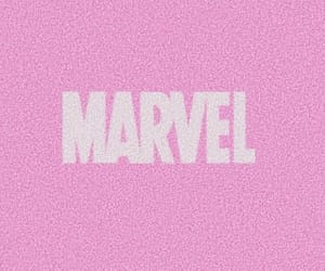 aesthetic, Marvel, and pink image