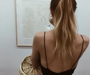 art, haïr, and blonde image