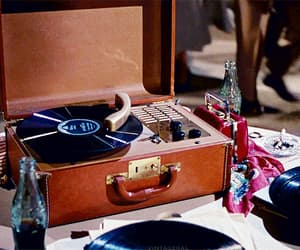 dance, record, and vintage image