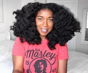 beautiful hair, beauty, and black women image