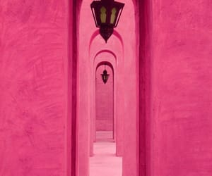 pink and architecture image
