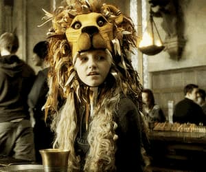 luna lovegood, harry potter, and gif image