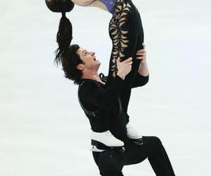 friendship, partnership, and ice skating image