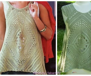crochet and summer top image