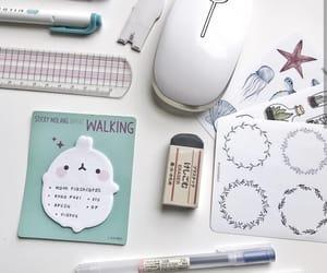 art supplies, journaling, and Muji image