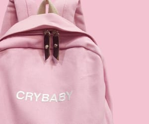pink, bag, and crybaby image
