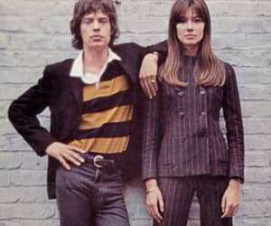 francoise hardy and mick jagger image