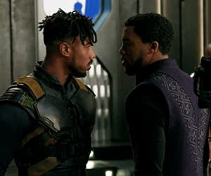 black panther, family, and gif image