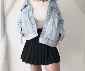 fashion, kfashion, and outfit image