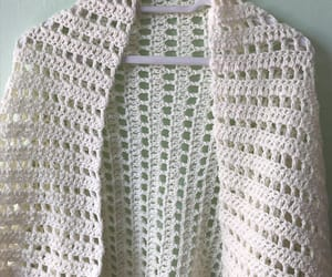 crochet shawl, bridesmaid shawl, and cream shawl wrap image