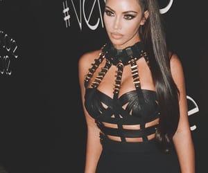 icon, kim kardashian, and Versace image