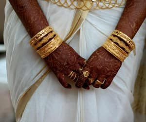 bangles, henna, and gold image