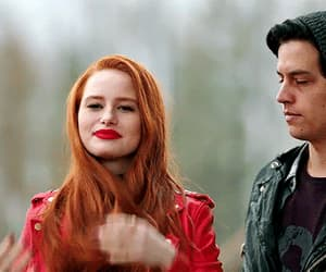 gif, cheryl blossom, and riverdale image