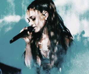 aesthetic, ariana, and aqua image