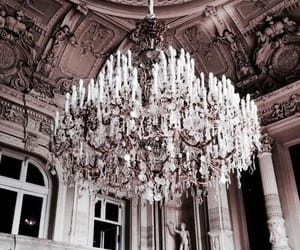 chandelier, luxury, and architecture image