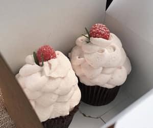 cupcake, aesthetic, and cream image