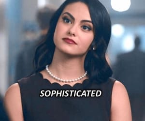 sophisticated, v, and riverdale image