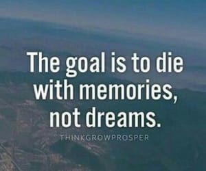 dreams, goals, and memory image