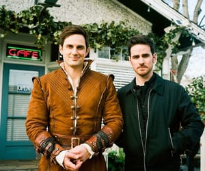 colin o'donoghue, andrew j west, and cast: tweets image